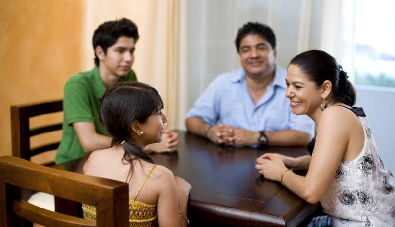 Habla con tu familia sobre dinero