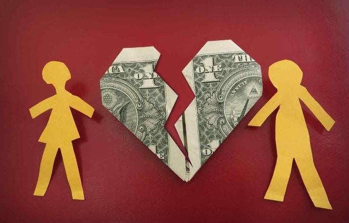 Los problemas de dinero dañan los matrimonios - estrés financiero