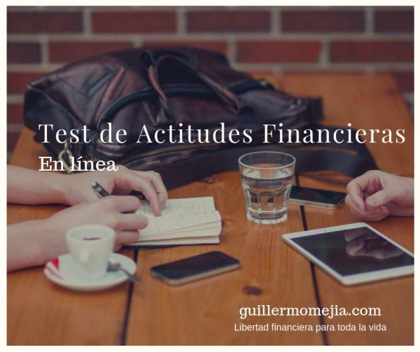 actitudes financieras
