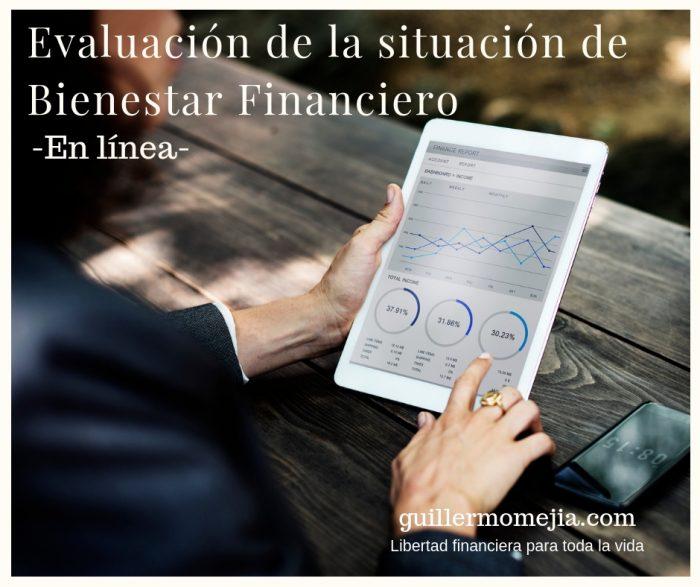 Evaluación de la situación de Bienestar Financiero – En línea